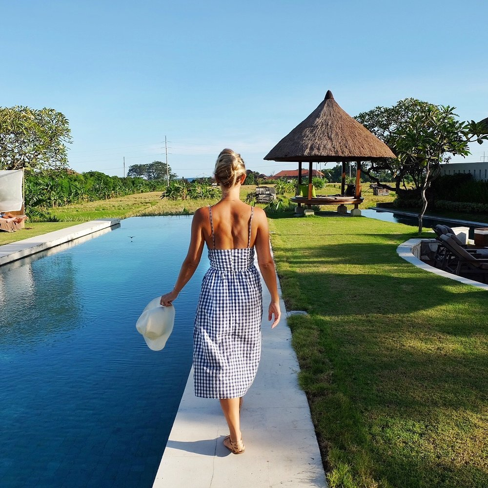 The Samata Hotel is a nice resort tucked away from the business of town in Sanur