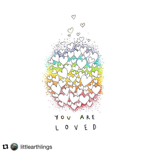 I am feeling so loved after my birthday yesterday. Thank you to everyone (including the barista at the coffee shop😉) for making me feel loved. #Repost @littlearthlings with @get_repost ・・・ Hi friends 👋🏻 just a very gentle reminder ✨ you are not alone in this ❤️