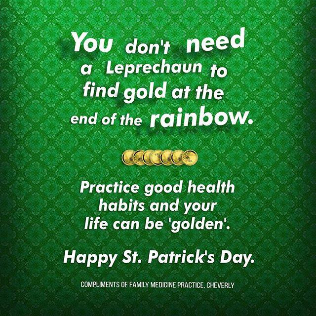 #goldenhealth#stpatricksdayweekend