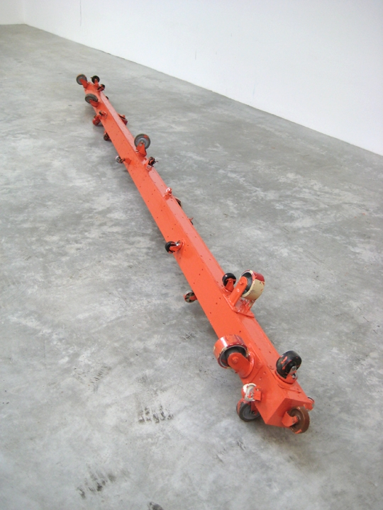 Rolling Platform (NLE) 2010 171 x 11 x 9 inches
