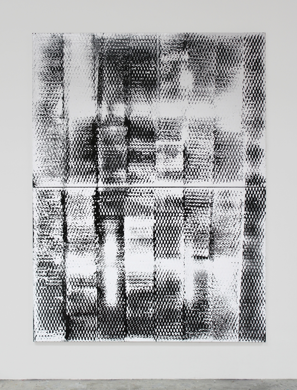 Painting #40 2015 96.25 x 72 x 1.5 inches