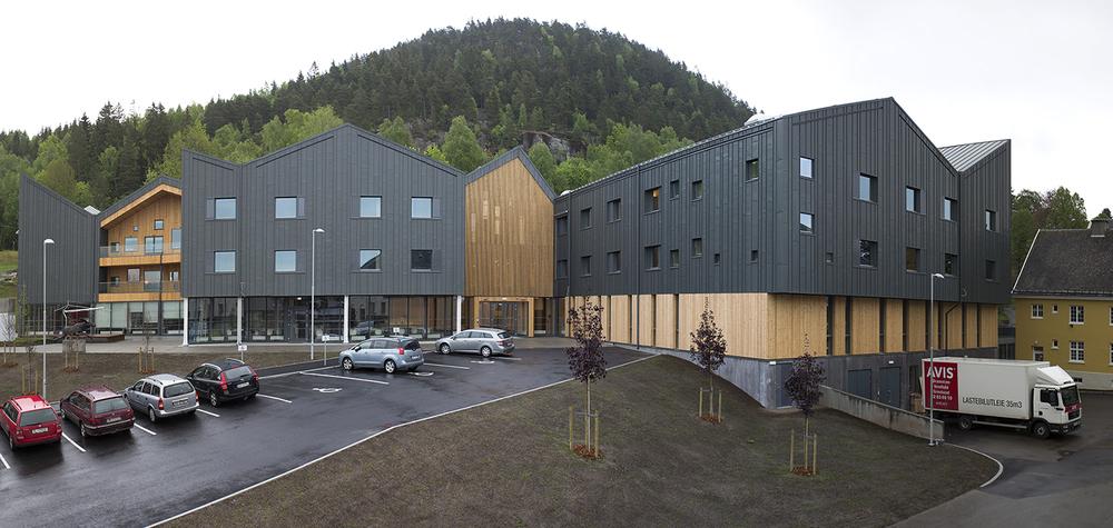 Kunst på Fosshagen Reiulf Ramstad Arkitekter Foto: Håkon Øvermo
