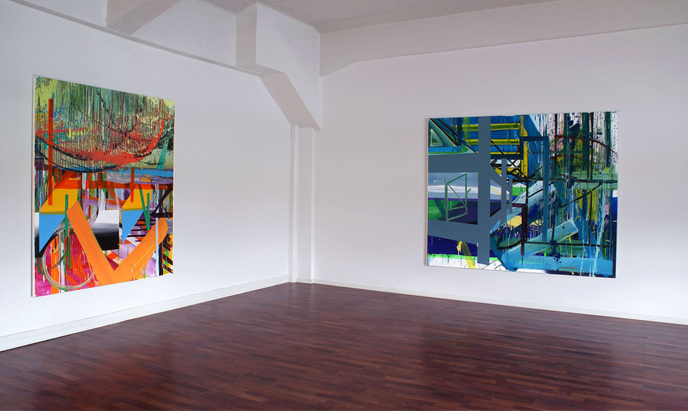 Installation photo  Structues By The Sea , Galleri Sult (2011)