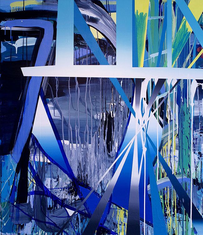 The Gate 2011 Acrylic on canvas 169 x 146 cm