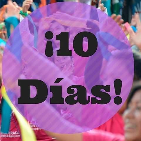¡Estamos a 10 días de Chispas del Hoy 2016! 100 mujeres jóvenes líderes se reunirán por tres días para buscar maneras de traer el cambio a sus comunidades y a Guatemala. #YoSoyChispa #GirlEffect #Changemakers