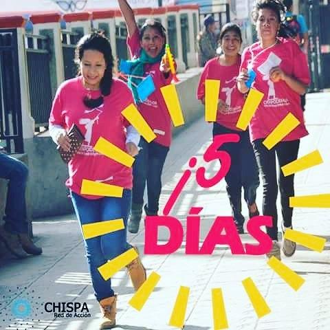 ¡A 5 días de reunir a las líderes agentes de cambio!  Cuéntanos por qué eres Chispa usando el hashtag #YoSoyChispa