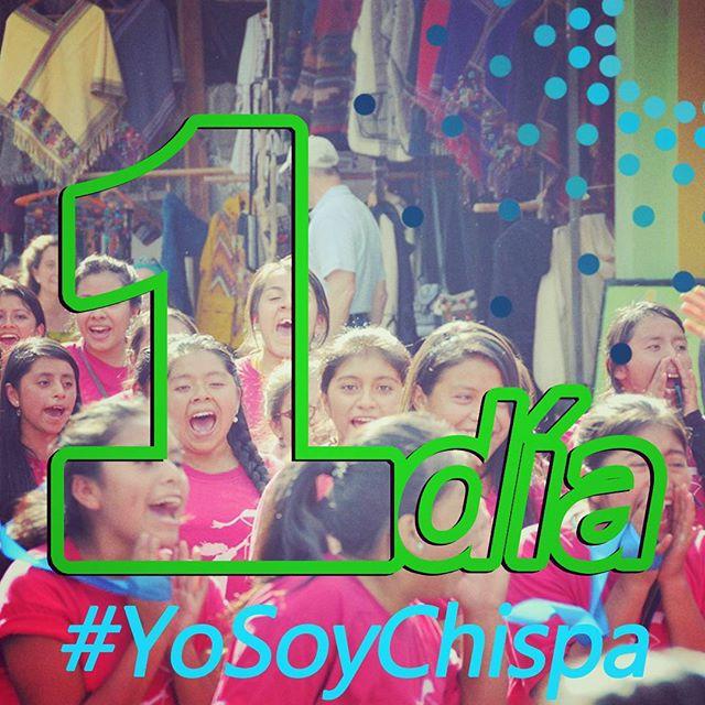 ¡Mañana iniciamos Chispas del Hoy! 100 jóvenes líderes se reunirán a buscar maneras de hacer el cambio en Guatemala #YoSoyChispa