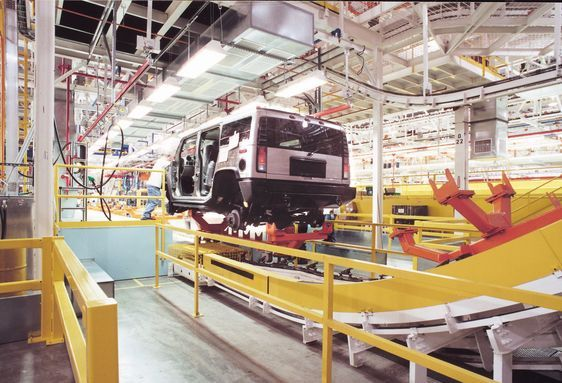 Hummer-assembly-plant