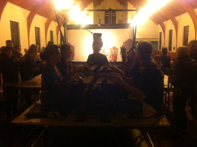 ShadowLight Gamelan; Carla Fabrizio, Lisa Gold, Paul Miller, and Sarah Willner