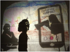 Everett Middle School 6th Grade Drama Class Shadow Play (2015)