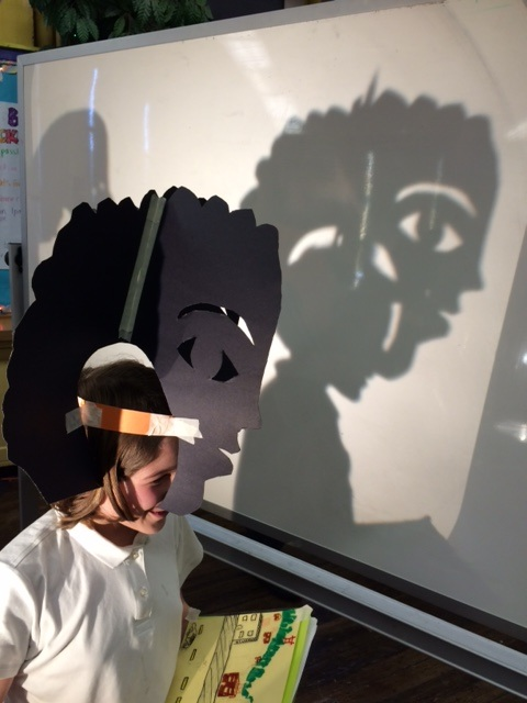 Shadow mask character