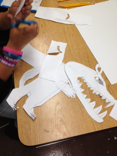 Designing shadow puppets