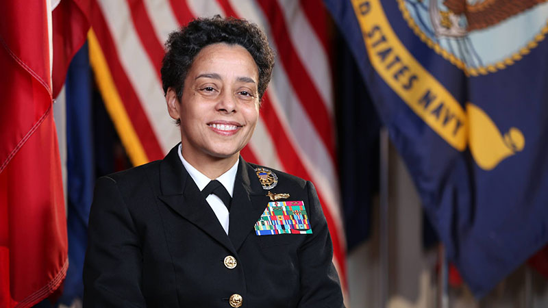 Michelle Howard - Four Star Navy Admiral