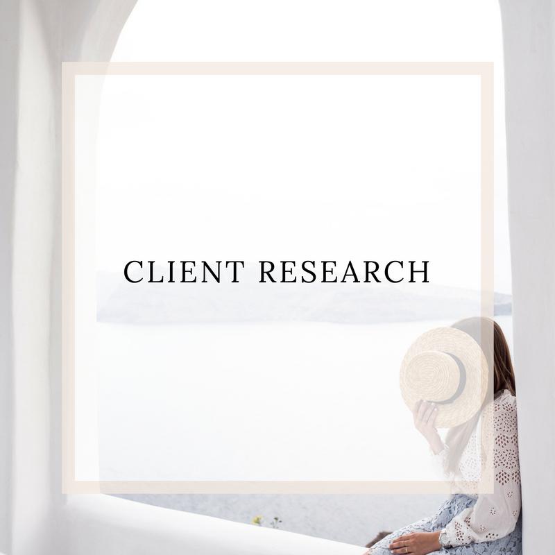 client research for entrepreneurs