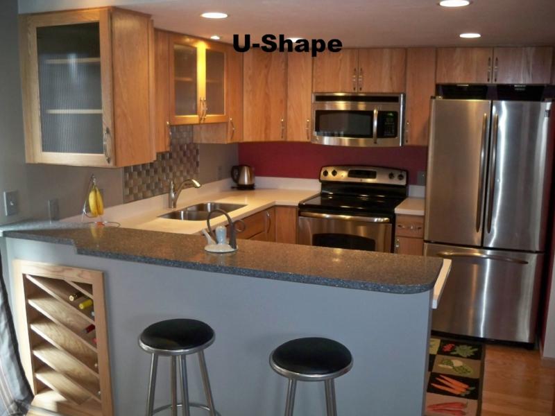 ... U Shape Kitchen Peninsula Kitchen