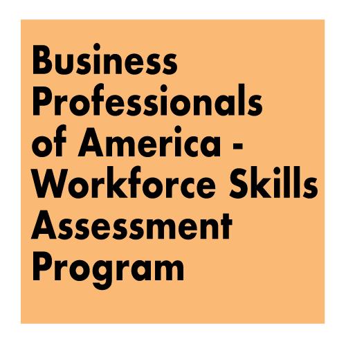 Title - Business Professionals of America - Workforce Skills Assessment Program