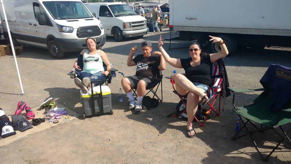 Martinez Crew:Flea-Market Slingin'.