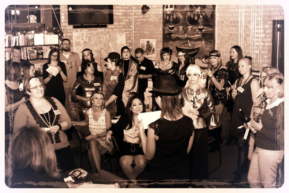 Dil Pickle Club Speakeasy Murder Mystery At Kibbitznest