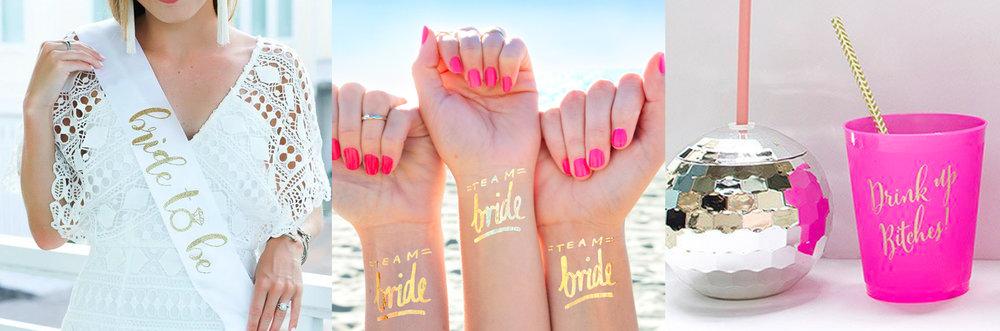 Bride Squad Accessories