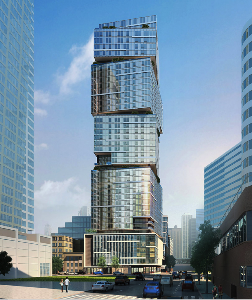 Above: The NEXUS condominium tower is already 80-percent reserved for priority presales with homes ranging in value from the low $300,000s to more than $3 million – occupancy 2019.