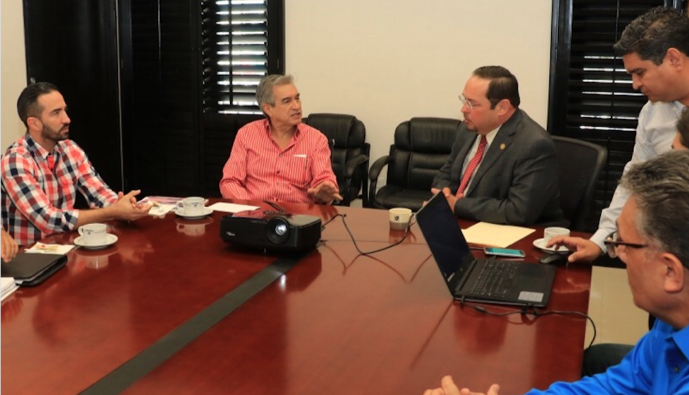 Reunión entre Secretaría de Economía y Universidad de Sonora