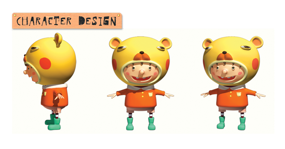 3D Character Design, Modeling and Rendering  Software: 3ds Max