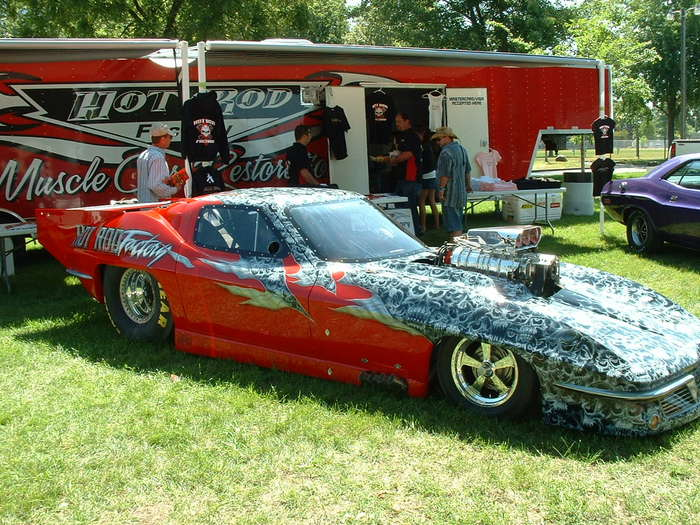 Pro Mod Dragster