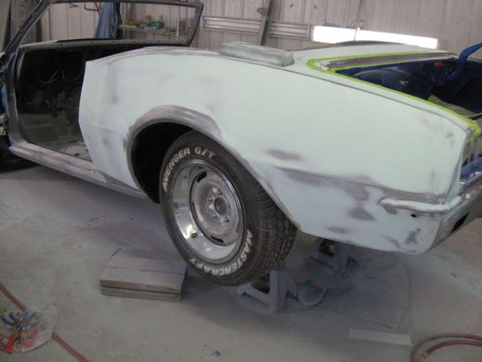 1968 Camaro Convertible