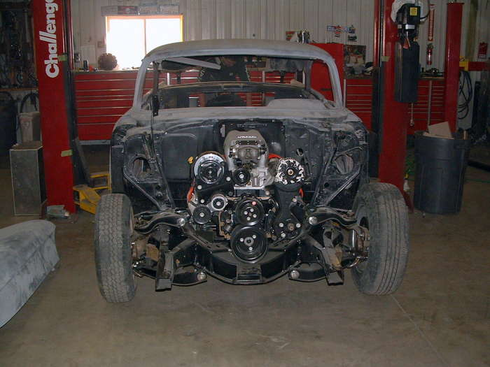 '57 Chevy- another good shot of the frame rail