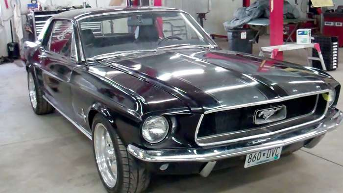 67 Mustang Minneapolis Hot Rod Custom Car Restoration