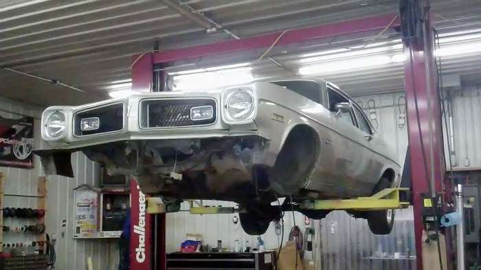 1974 Pontiac GTO Minneapolis Hot Rod Custom Car Restoration