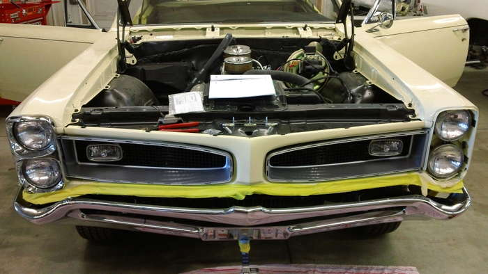 1966 Pontiac GTO Minneapolis Hot Rod Custom Car Restoration