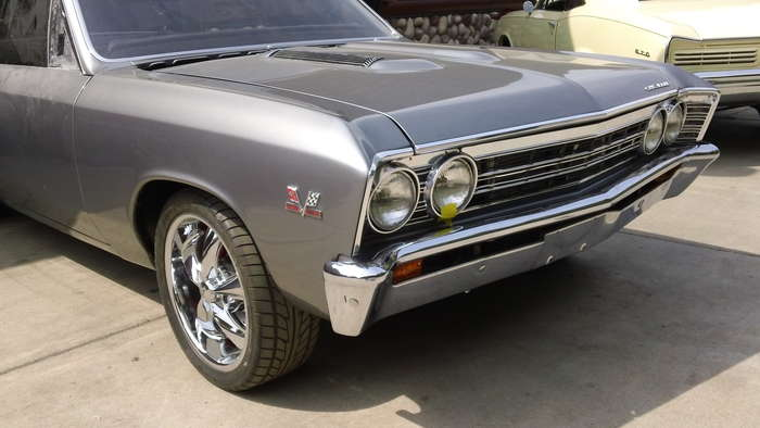 1967 Chevelle SS Minneapolis Hot Rod Custom Car Restoration