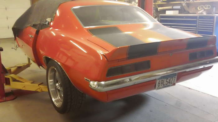 69 Camaro Minneapolis Hot Rod Custom Car Restoration
