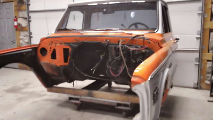 72 Chevy Truck Minneapolis Hot Rod Custom Car Restoration