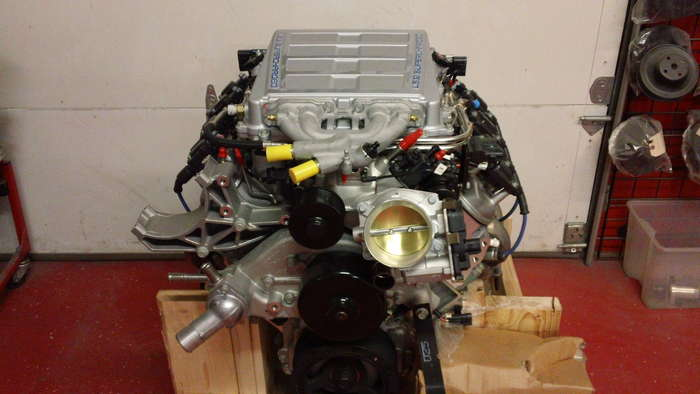 38 Chevy ZR1 Motor