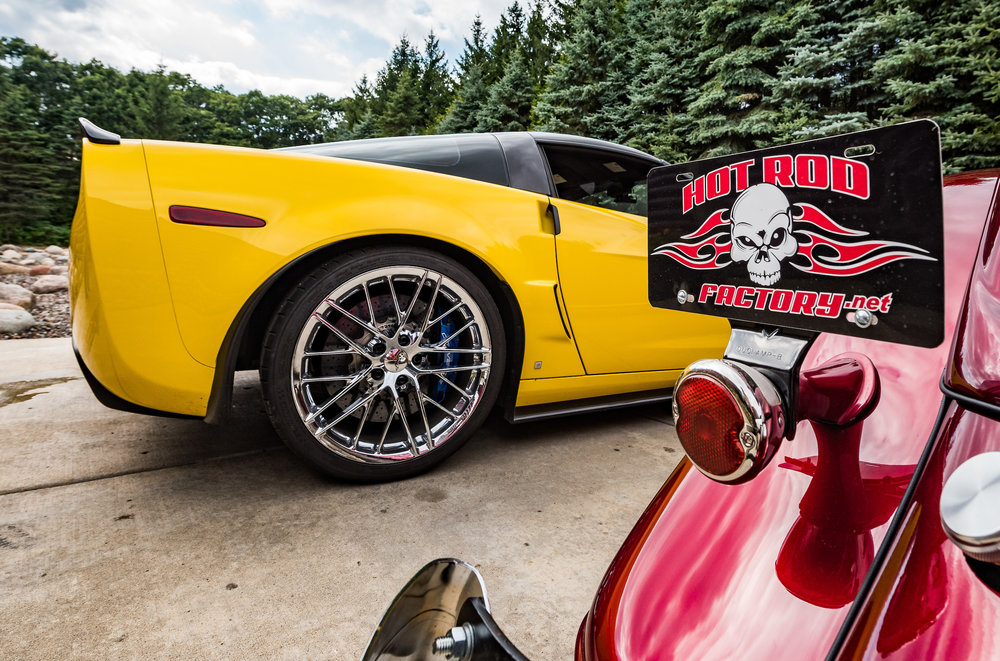 Minnesota Hot Rod Factory Corvette