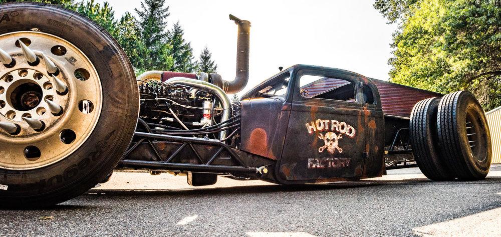 Minnesota Hot Rod Factory Rat Rod