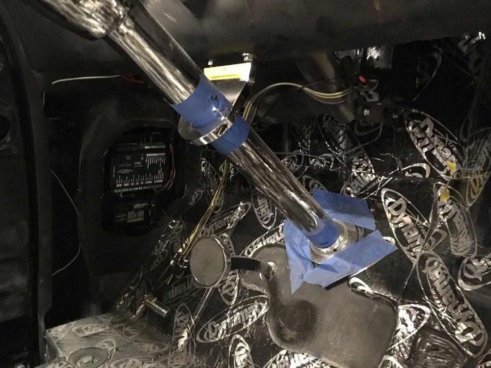 55 Chevy vintage air