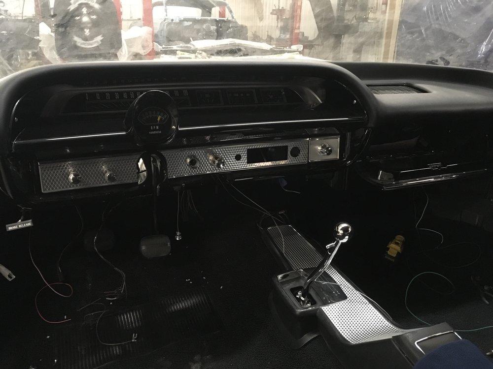 Dash, Brian's 64 Impala SS