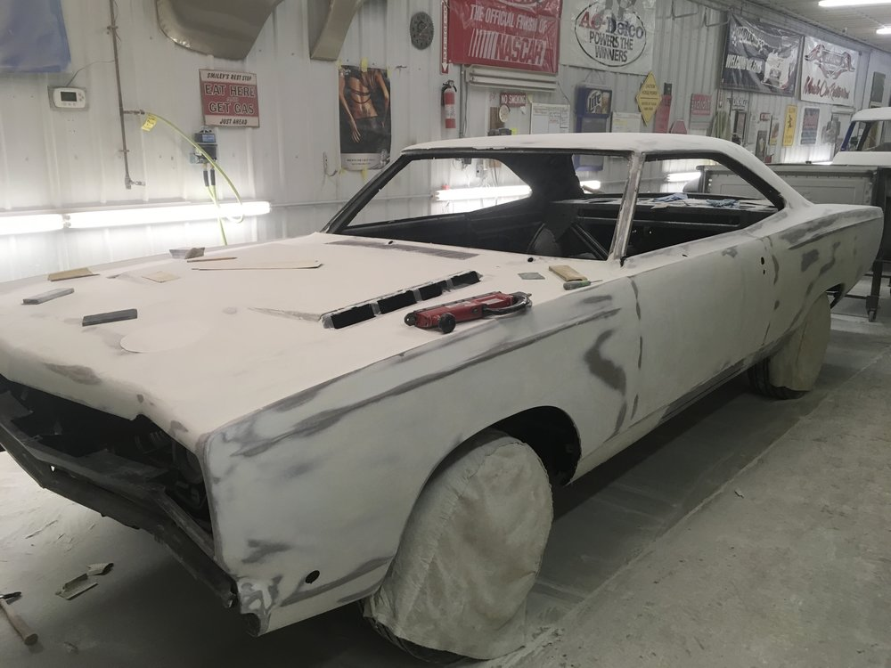 Continuing mud on 68 Plymouth GTX