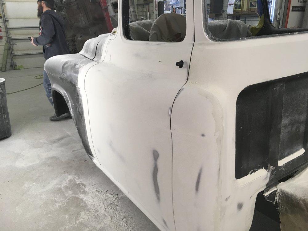 Drivers side door, 57 GMC truck