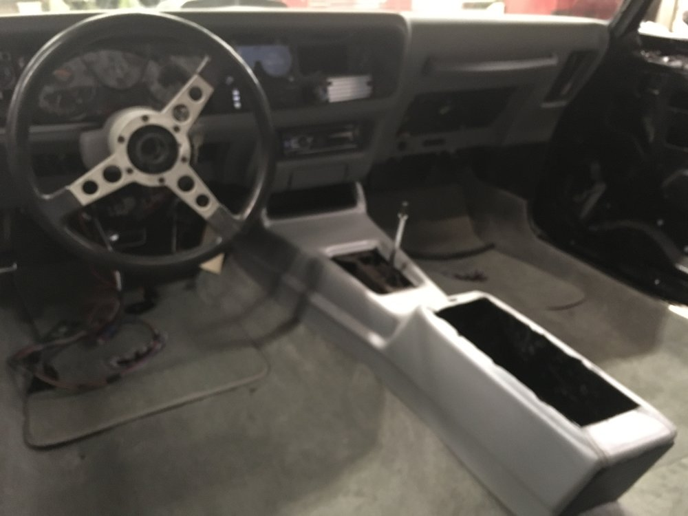 Interior and carpet going in 1979 Trans Am