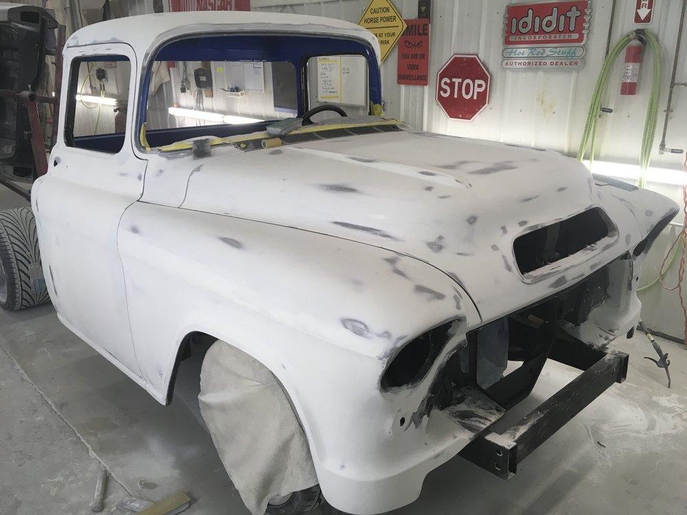 1957 Chevy truck bodywork