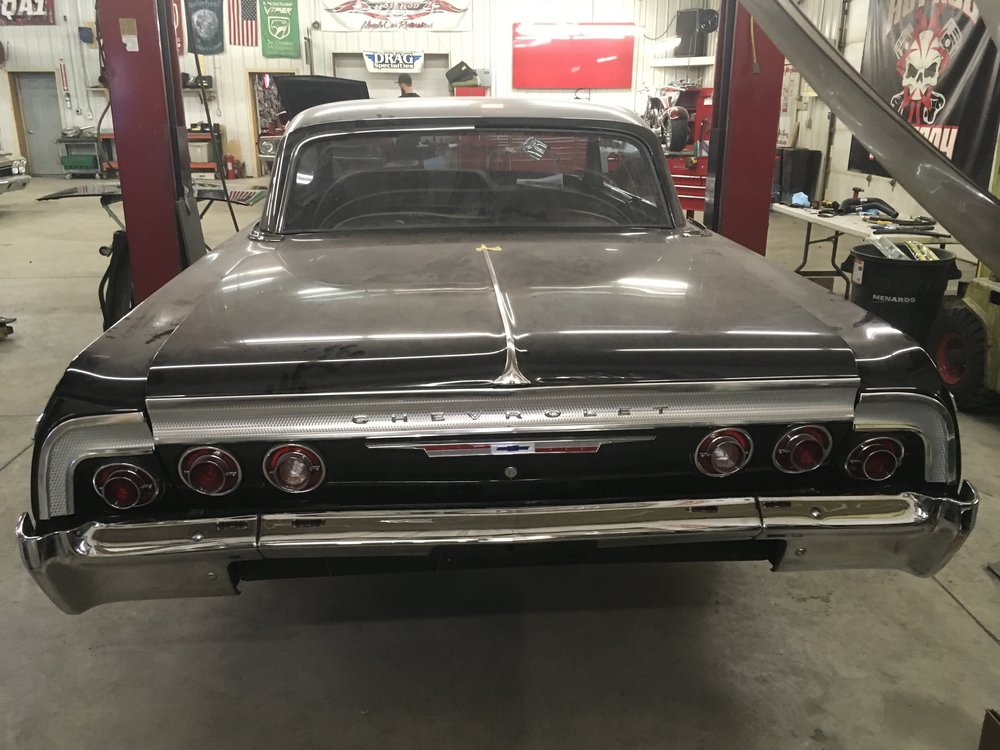Rear bumper 1964 Impala