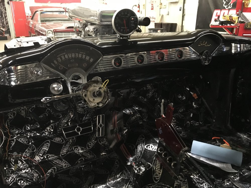 55 Chevy Dash