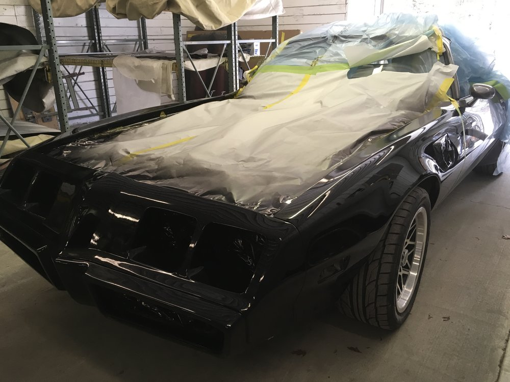 Front end on 1979 Trans Am.