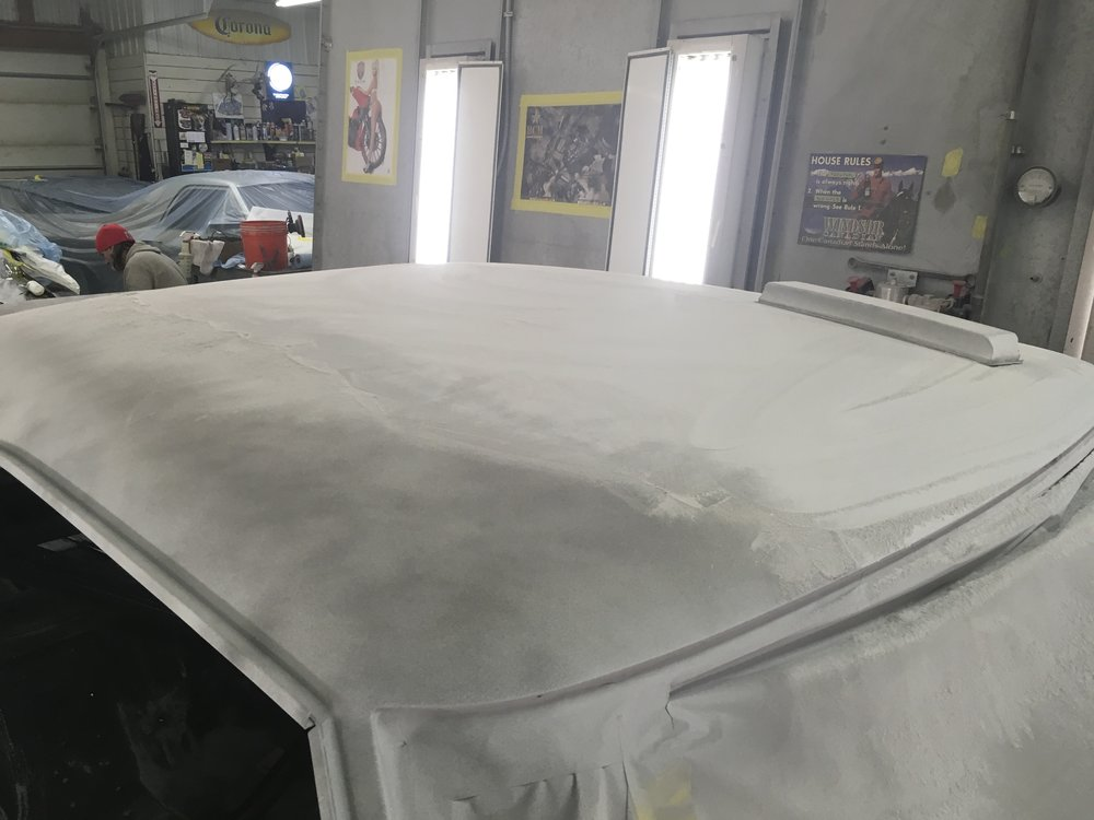 Sanding 1970 Charger