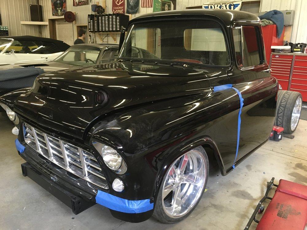Hood on 1955 Chevy