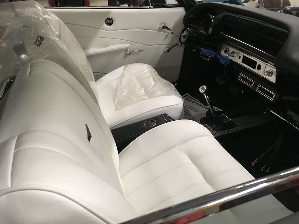 New interior in Impala